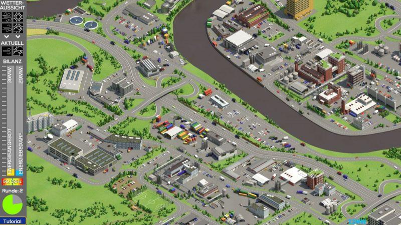 Das Bild zeigt einen Screenshot des Online-Games SynErGame.
