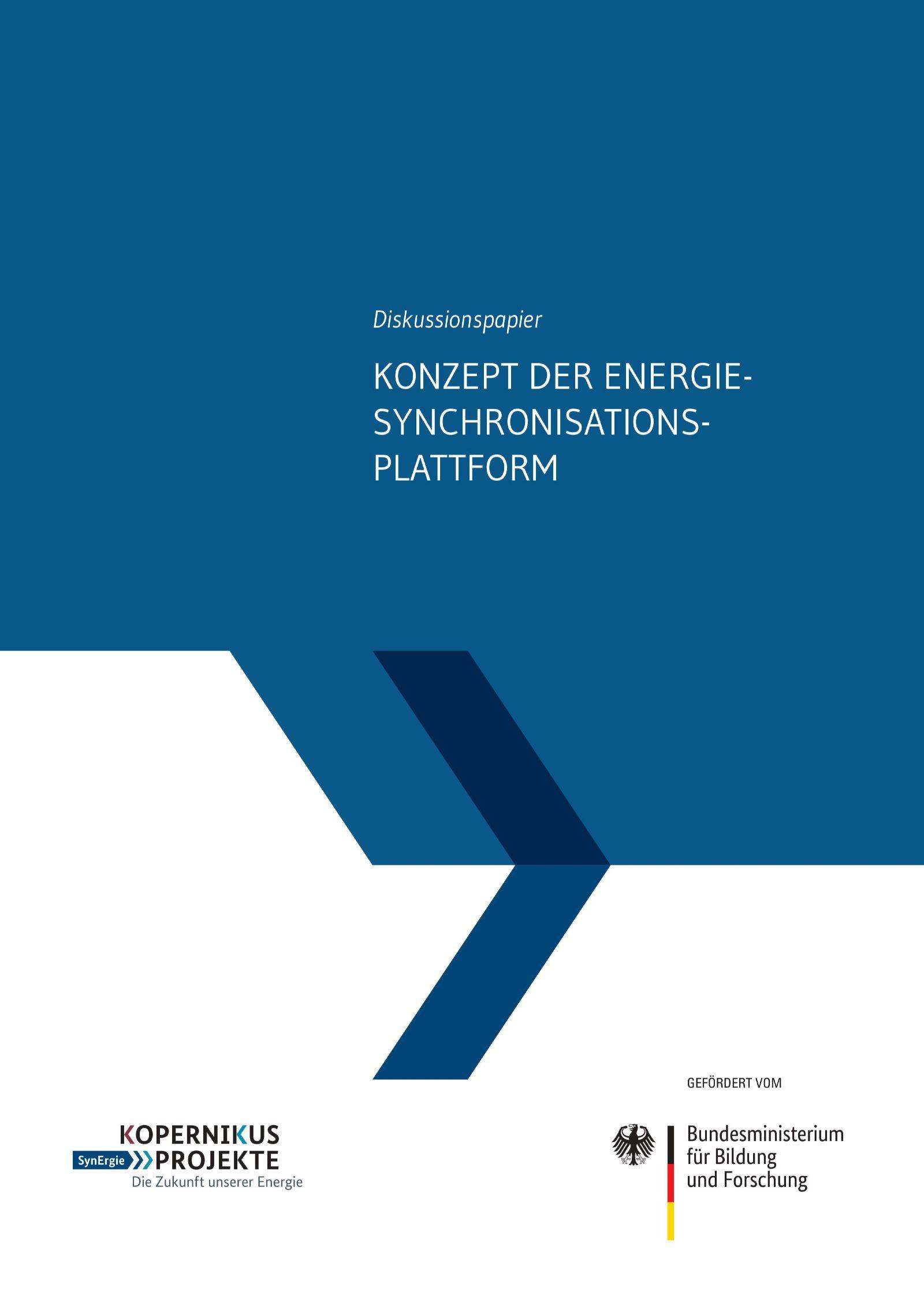Das Bild zeigt das Cover des SynErgie-Diskussionspapier zur Digitalisierung in der Flexibilisierung.