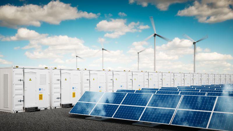 Das Bild zeigt eine Fotomontage zum Thema Power-to-X.